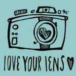 love your lens logo