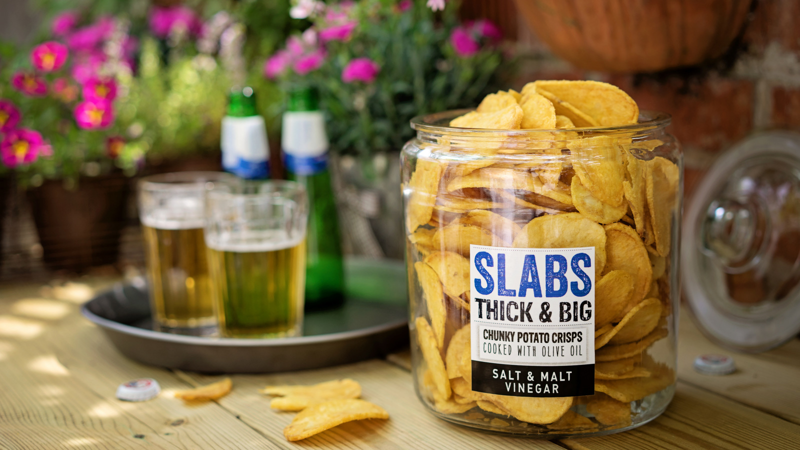 Food Photography Slabs Crisps